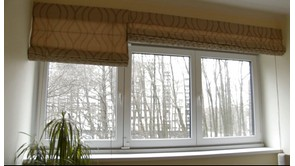 Curtain rod installation with ultra strong adhesive